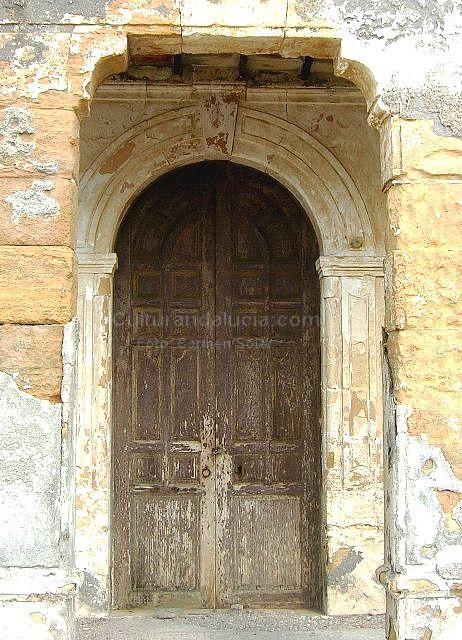 La iglesia de las salinas de cabo de gata almer a - Puertas de madera decoradas ...