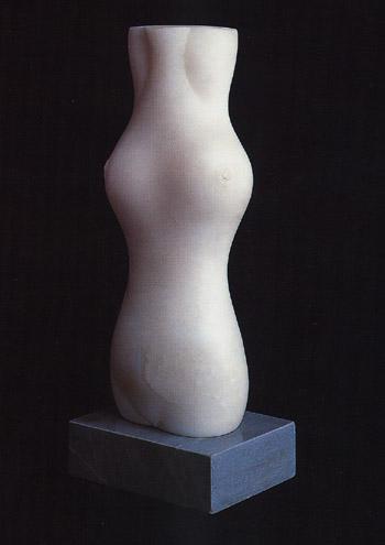 """""""Cariátide"""", obra de Baltasar Lobo (1965-1966)"""