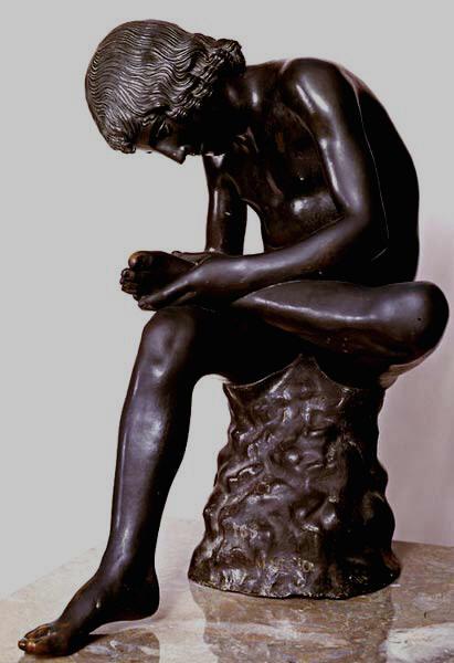 """""""Espinario"""" . Museos Capitolinos de Roma"""