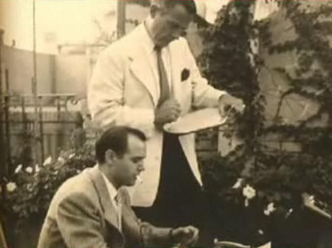 Agustín Penón y William Layton.