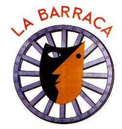 """Insignia del grupo de teatro """"La Barraca"""" co-dirigido por Federico García Lorca."""
