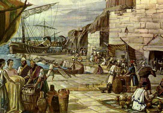 Cultura en andaluc a los fenicios for Civilizacion maya arquitectura
