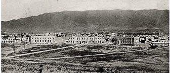 Campamento Álvarez de Sotomayo.Vista general ( Viator-Almería,año 1927)