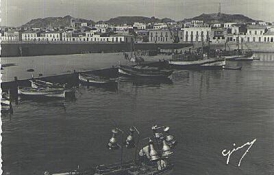 Garrucha.Puerto pesquero