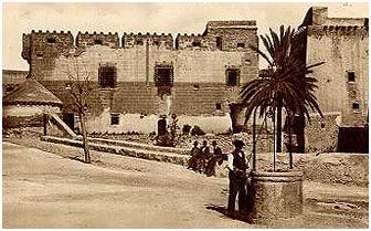Castillo de Cuevas de Almanzora (Almería) Foto tomada en 1940