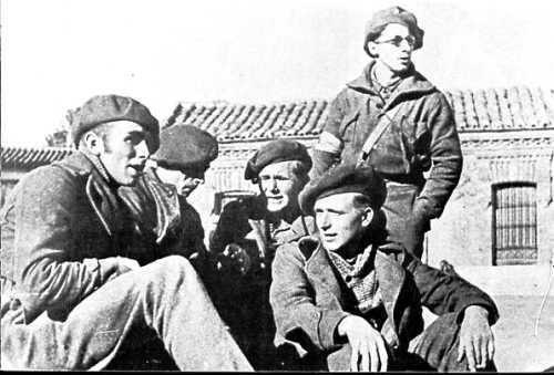 Brigadistas Internacionales alemanes en España durante la Guerra Civil