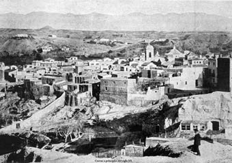 Cuevas de Almanzora a principios del siglo XX