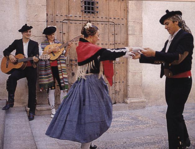 real árabe baile en Jaén