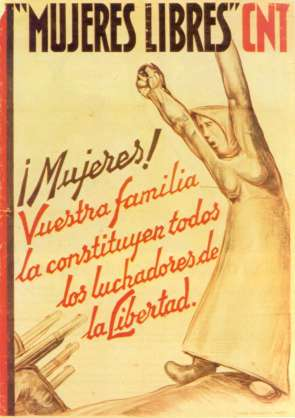 "Cartel de ""Mujeres Libertarias"""