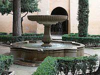 Fuente del Jardín de Lindaraxa, en La Alhambra