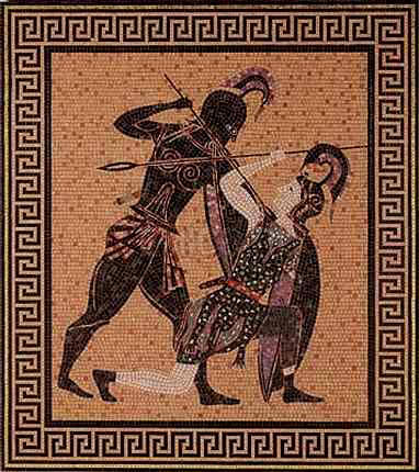 Pentesilea la muerte de una amazona por milagros soler for En la mitologia griega la reina de las amazonas