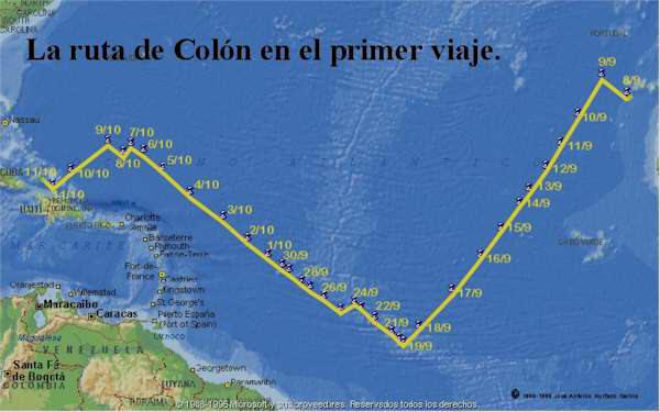 Gambar terkait dengan 12 de octubre descubrimiento de amrica cristobal coln para