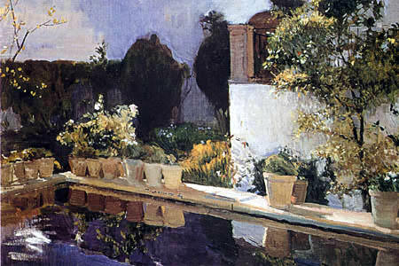 Cultura en andaluc a pintores en andaluc a for Piani di casa patio gratuito