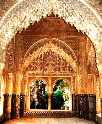 Mirador de Lindaraja.Alhambra